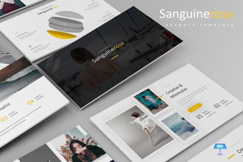 Sanguinerose-主题演示模板