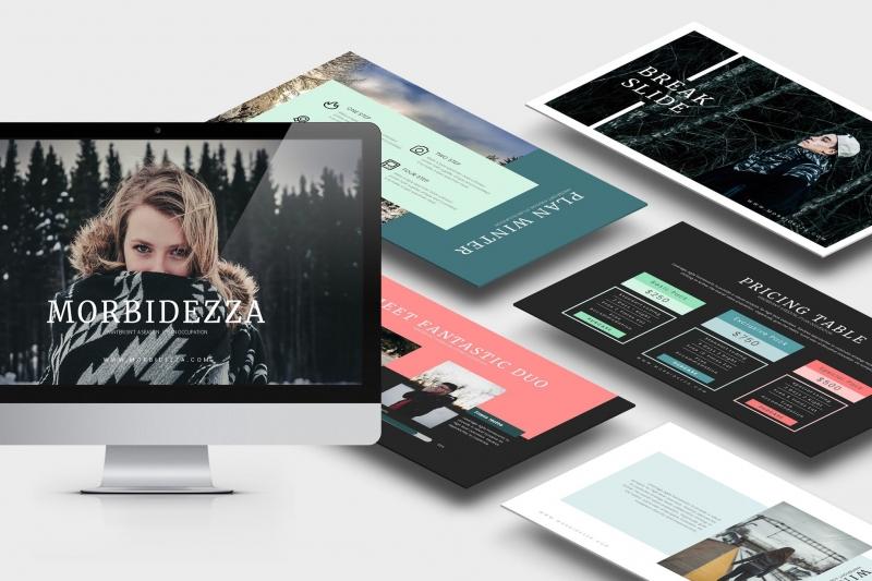 Morbidezza:冬季Powerpoint模板