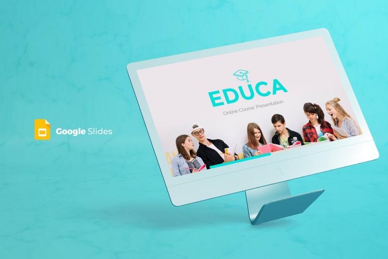 Educa-谷歌幻灯片模板PPT