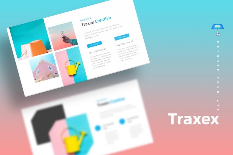 Traxex-主题演示模板keynote