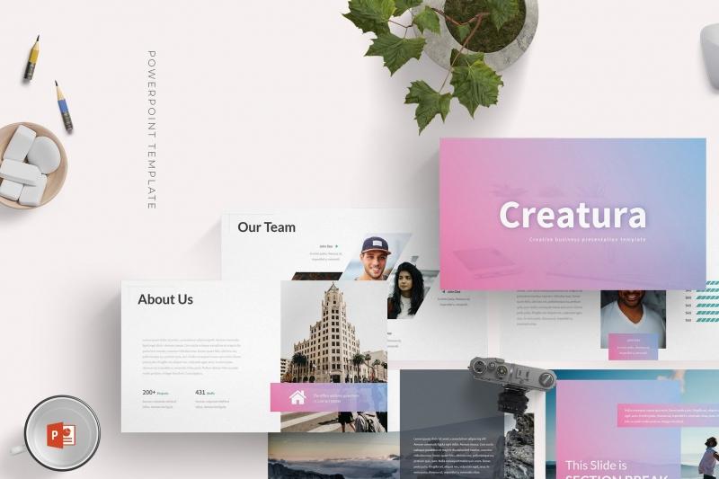 Creatura-Powerpoint模板