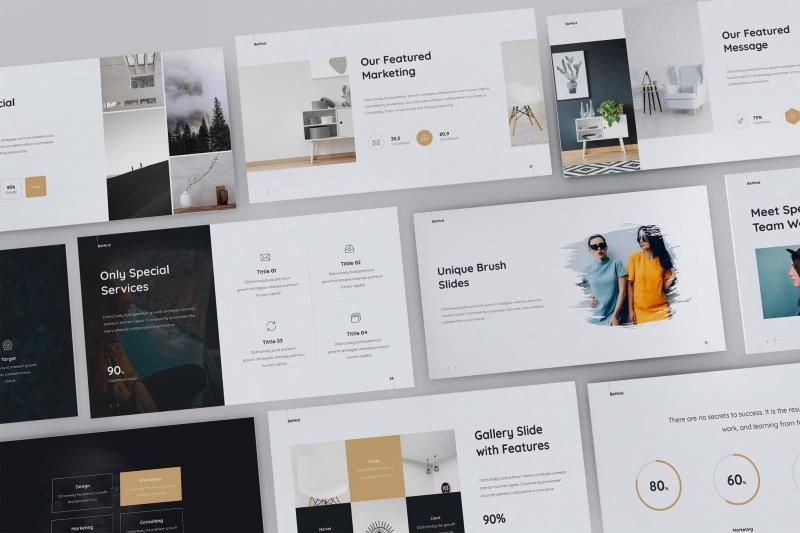 BeMind最小和业务模板(Keynote)