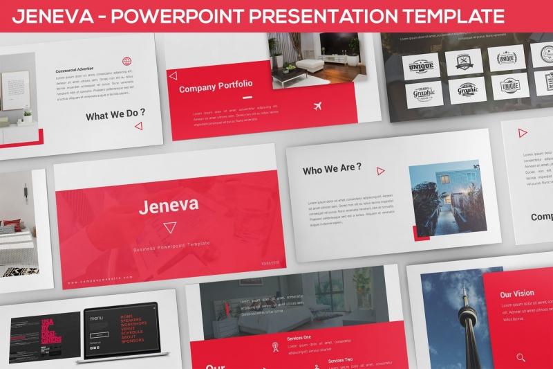 Jeneva-Powerpoint演示模板