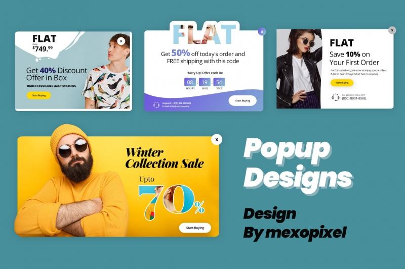 弹出式销售设计推广在线业务UI工具包