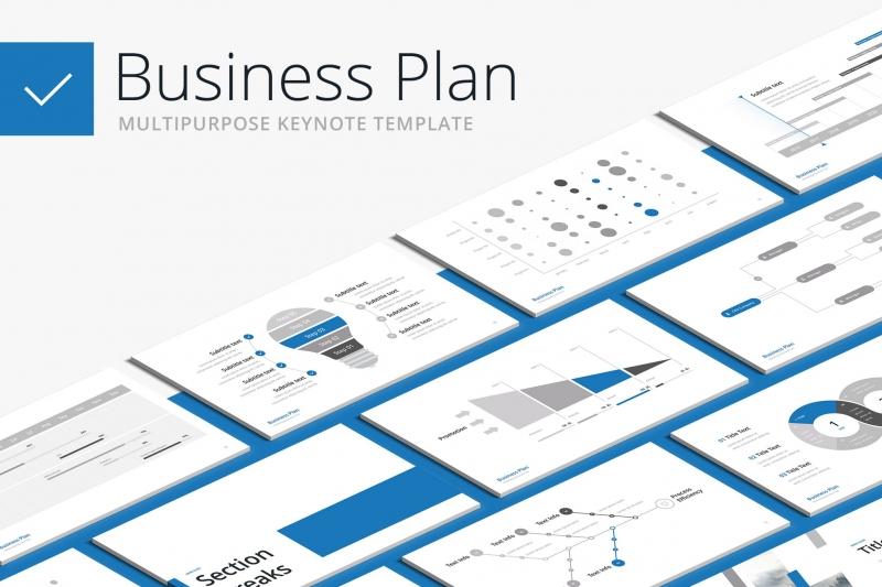 商业计划书-多用途主题演讲模板keynote下载