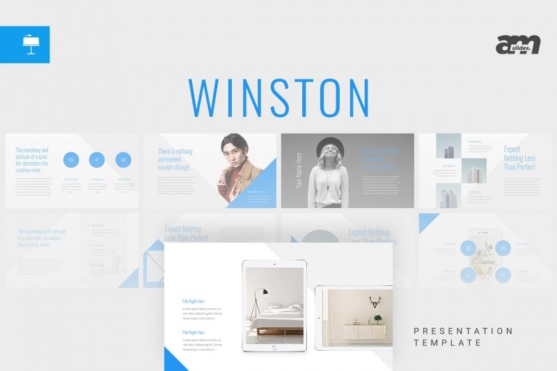 Winston-Keynote Temlplate下载