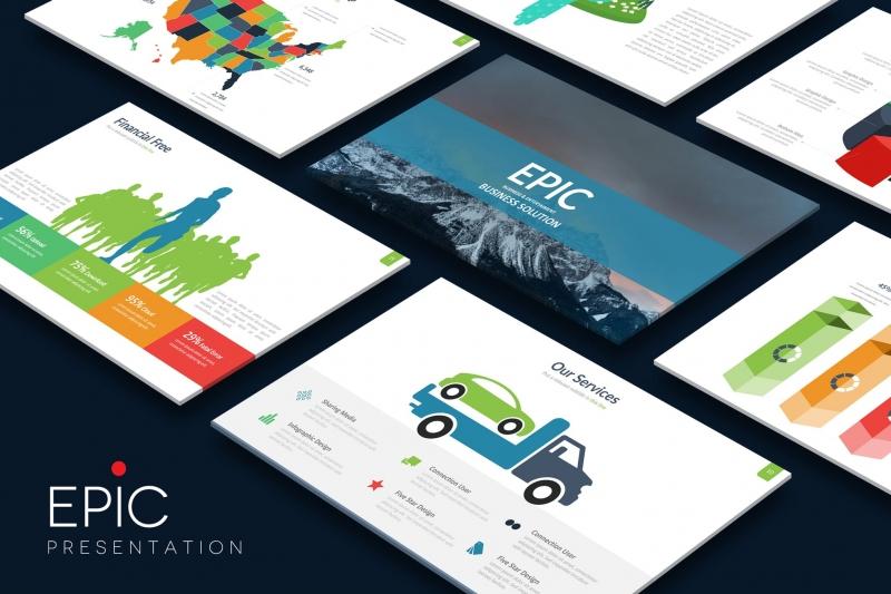 EPIC Powerpoint模板下载