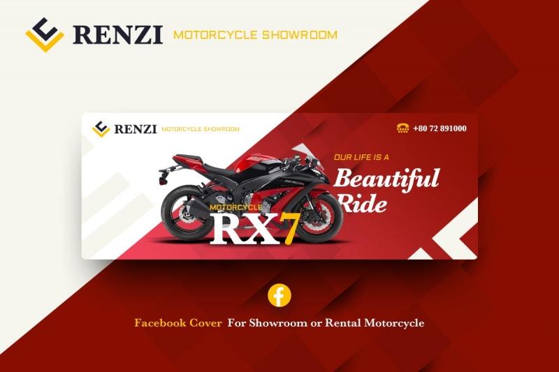 Renzi-Facebook封面模板UI工具包