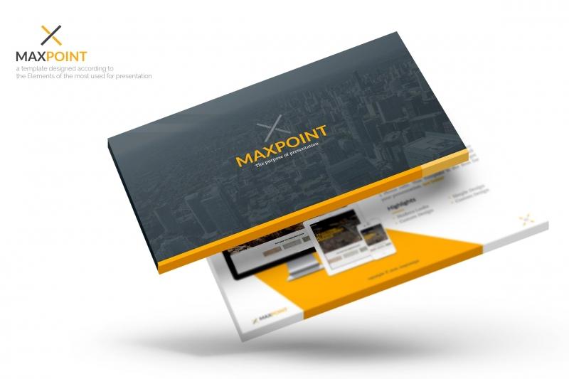 Maxpoint Powerpoint模板下载