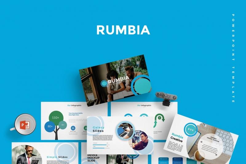 Rumbia-Powerpoint模板