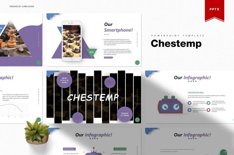 Chestemp | Powerpoint模板