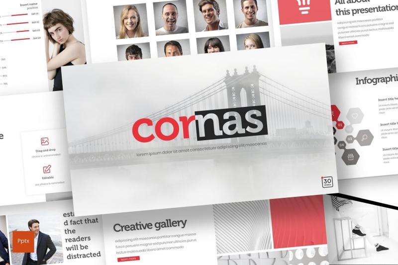Cornas-Powerpoint模板