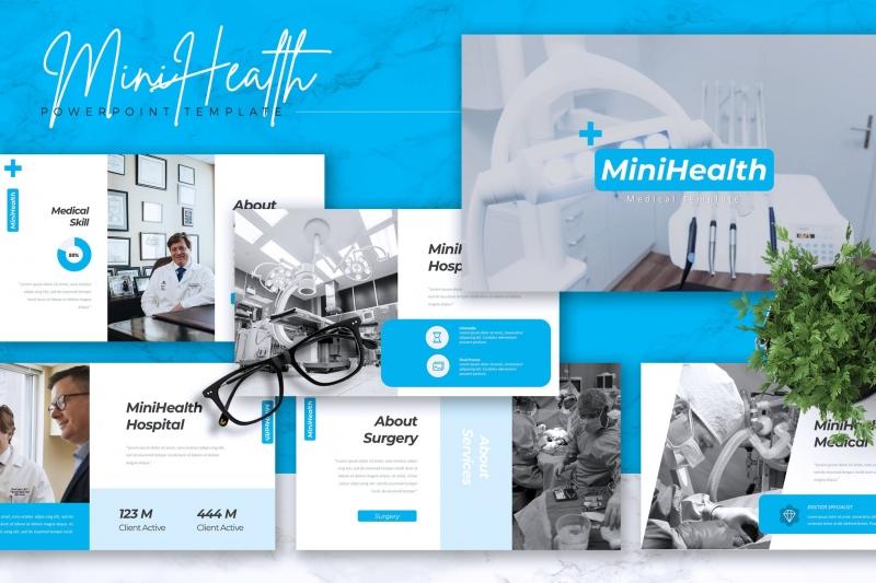 MINIHEALTH-医疗Powerpoint模板