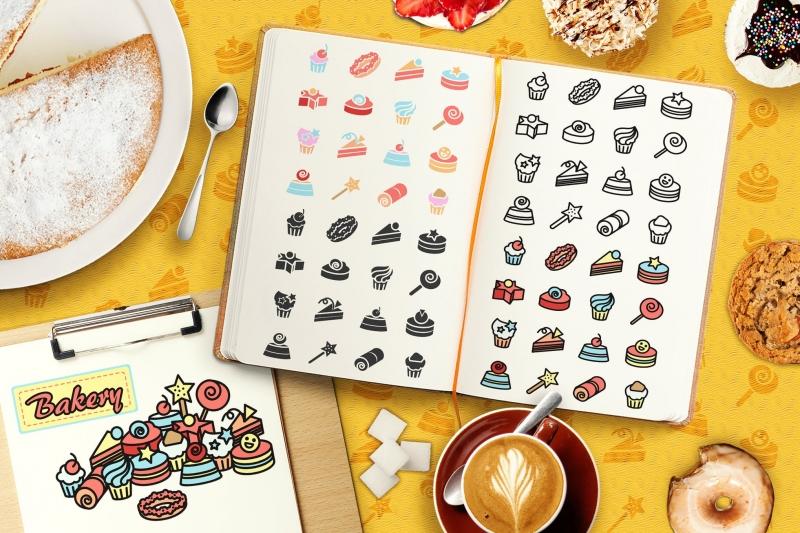 蛋糕元素icon