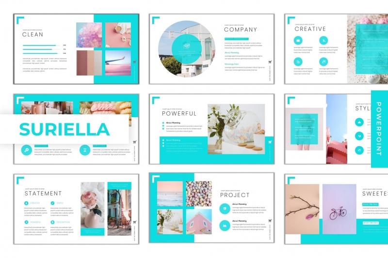 Suriella-PowerPoint模板