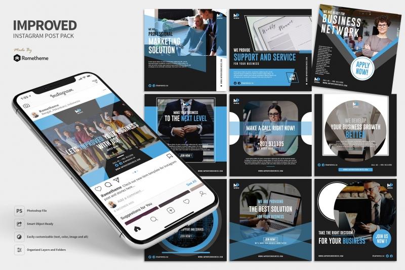 改进-营销业务Instagram Post RY-ui设计